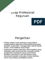 20744431 Sikap Profesional Keguruan