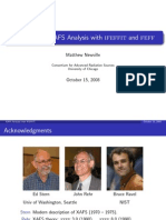 Advances in Xafs Analysis