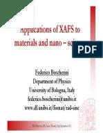 Applications of XAFS to Materials and Nano