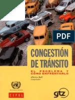 Congestion de Transito y Como Enfrentarlo
