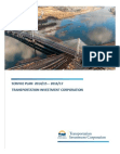 Financial Management on Transportation Investment Corporation