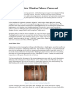 Steam Turbine Rotor Vibration Failures