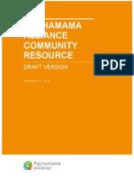 Pachamama Alliance Community Resource v1