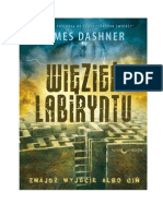James Dashner-Więzień Labiryntu 01