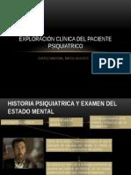 2.Exploración Clínica Del Paciente Psiquiatrico