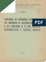 Istruzione sul dosimetro tattico M.64, sul dosimetro di contaminazione M.65 e sul caricatore M.65 per dosimetri (5641) 1966