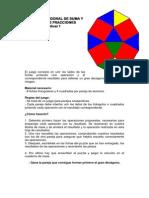PUZZLE POLIGONAL DE SUMA y RESTA DE FRACCIONES