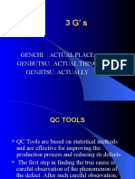 3G and 7 QC tools