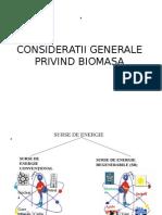Energia Din Biomasa