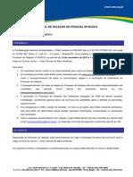 Edital de Seleção 08.2015-Tecnico Junior Meio Ambiente