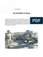 car accident in oman