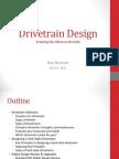 Drive Train Design