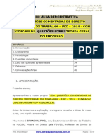 500 Questões Processo Do Trabalho FCC 2014 Bruno Klippel