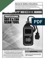 Cen-Tech (Harbor Freight) Scan Tool - 62120