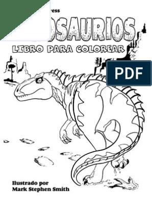 Dinosaurios Libro Para Colorear Spanish Pdf Dinosaurios
