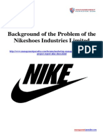 Background of the Problem of the Nikeshoes Industries Limited