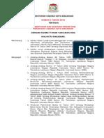 Perda No. 3 Tahun 2009 Struktur Makassar