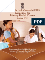 Guidelines PHC 2012