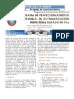Programa de Perfeccionamiento Profesional en Automatizacion Industrial Basada en PLCS
