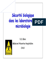 Securite Laboratoires