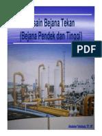 Desain Bejana Pendek (Reaktor)