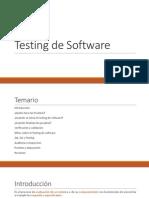 Testing de Software Sesión N° 01