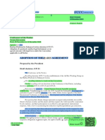 Paris Agreement - Comparison of the final draft with the previous draft