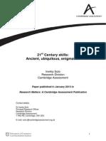 Suto 2013 21st Century Skills - Ancient, Ubiquitous, Enigmatic