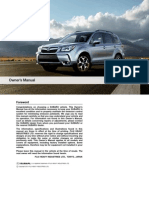 Subaru Forester Manuals 2015 Forester Owners Manual (1)