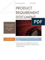 Product Requirement Document - Mobile Movie Booking App