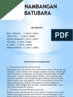Presentasi Batubara