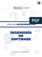 A0248 Ingeniería de Software MAU01