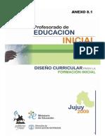 Diseño Curricular para la Educación Inicial -Jujuy - 2009
