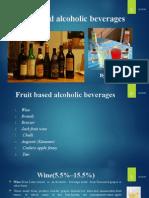 Fruit Based Alcoholic Beverages