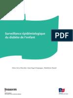 Surveillance épidémiologique du diabète de l enfant
