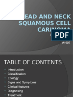 Head and Neck Squamous Cell Carinoma