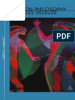 The Non-Philosophy of Gilles Deleuze