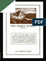 The Spirit World Illustrated Clarence Larkin 1921