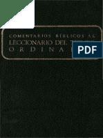 Secretariado Nacional de Liturgia - Comentarios Biblicos Al Tiempo Ordinario