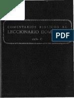 Secretariado Nacional de Liturgia - Comentarios Biblicos Al Leccionario Dominical C