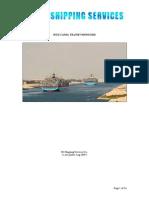 Suez Canal Transit Miniguide
