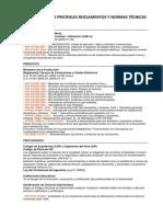 Resumen de Las Pricipales Reglamentos y Normas Técnicas