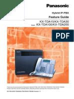 KX-TDA15 V1.1 Feature Manual