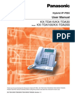 KX-TDA15 V1.1 User Manual (1)