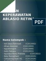 Asuhan Keperawatan Ablasio Retina