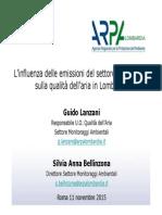 Guido Lanzani Silvia Anna Bellinzona Arpa Lombardia