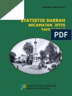 Statistik Daerah Kecamatan Jetis 2013