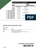 Sony Service Manual KDL-40Z4100_B