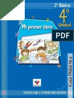 Lenguaje Mi primer libro 2°