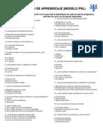 Estilos de Aprendizajes PNL